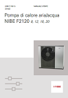 Scheda tecnica NIBE F2120