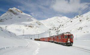 Il sistema di trasporto più ecologico? Il treno