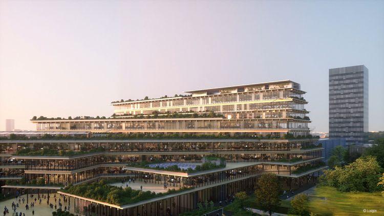 Welcome a Milano, Ufficio Biofilico di Kengo Kuma & Associates