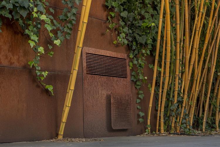 Pompa di calore a basso impatto estetico