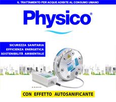 Physico: sanificazione permanente degli impianti idrici