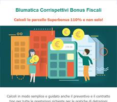Per corrispettivi bonus fiscali scegli il software Blumatica