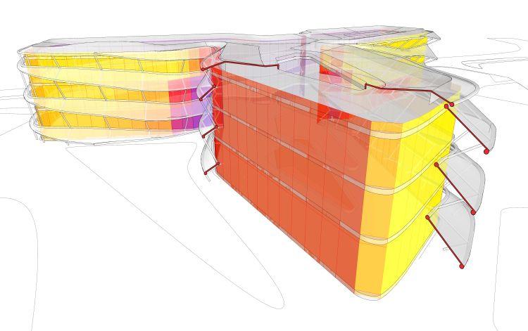 Strumenti integrati avanzati per la progettazione dell'ospedale Fondazione Stella Maris a Pisa
