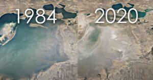 Timelapse di Google Earth mostra come è cambiato il pianeta in 37 anni