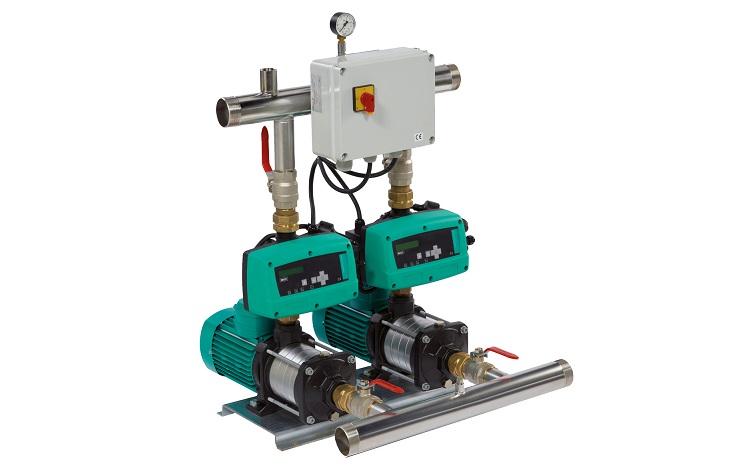 Wilo-COE-2 EMHIL: sistemi di pressurizzazione idrica con doppio inverter