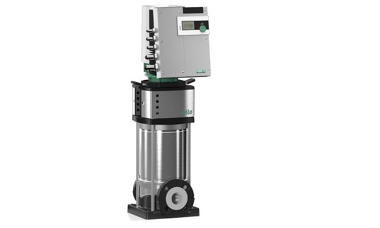 Wilo-Helix EXCEL: elettropompe centrifughe multistadio ad asse verticale con motore IE5