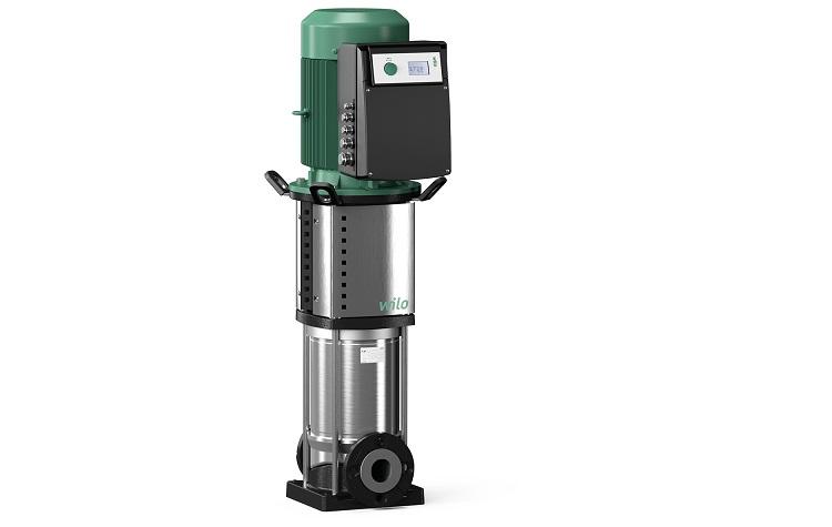 Wilo-Helix VE: elettropompe centrifughe multistadio ad asse verticale con motore IE4