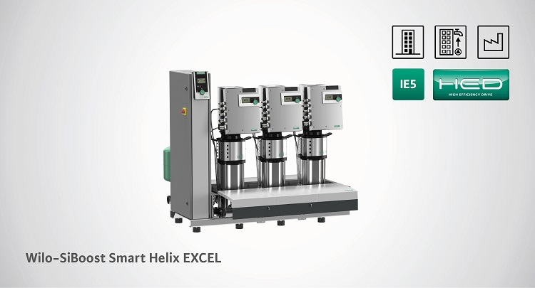 Wilo-SiBoost Smart Helix EXCEL