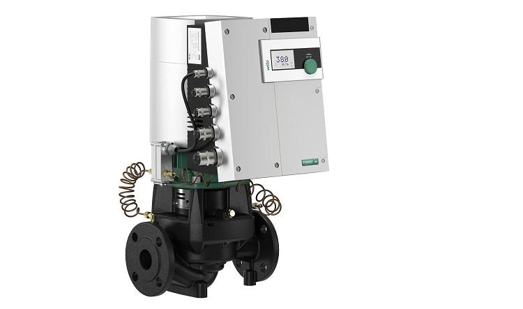 Wilo-Stratos GIGA: elettropompe inline con motore a magneti permanenti EC
