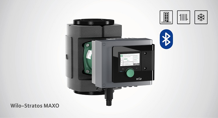 Wilo-Stratos MAXO: circolatori ad alta efficienza