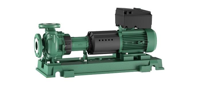 Wilo-Yonos GIGA-N: elettropompe centrifughe monostadio a motore ventilato regolate elettronicamente