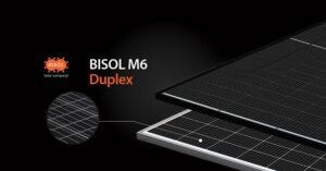 Novità dal mondo del fotovoltaico: arrivano i moduli BISOL Duplex
