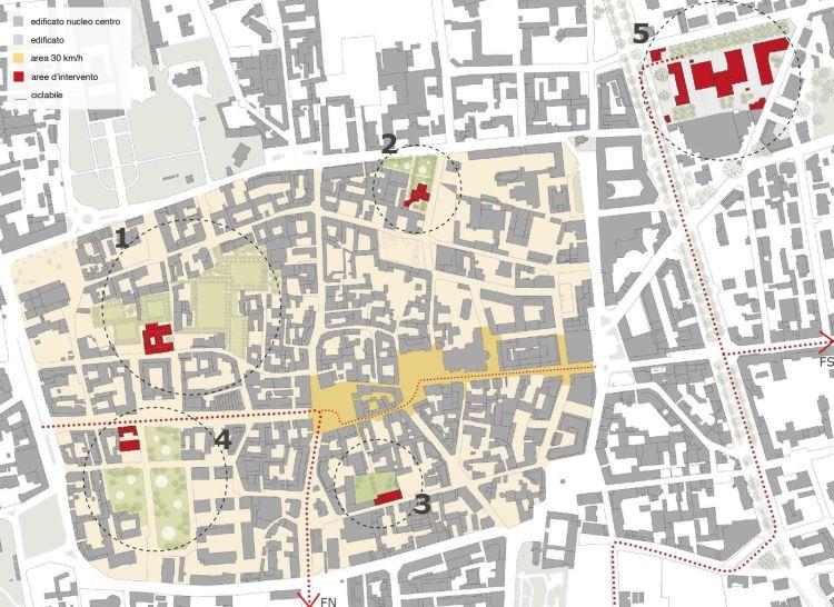 DAP Studio per la riqualificazione del centro storico di Busto Arsizio