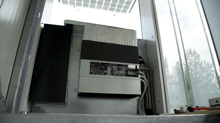 Cellia: il sistema di facciata è integrato all'impianto di climatizzazione