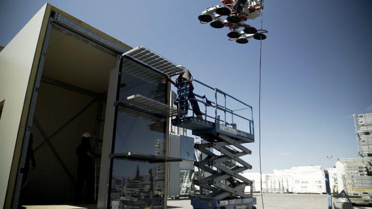 Cellia: L'installazione dei moduli fotovoltaici