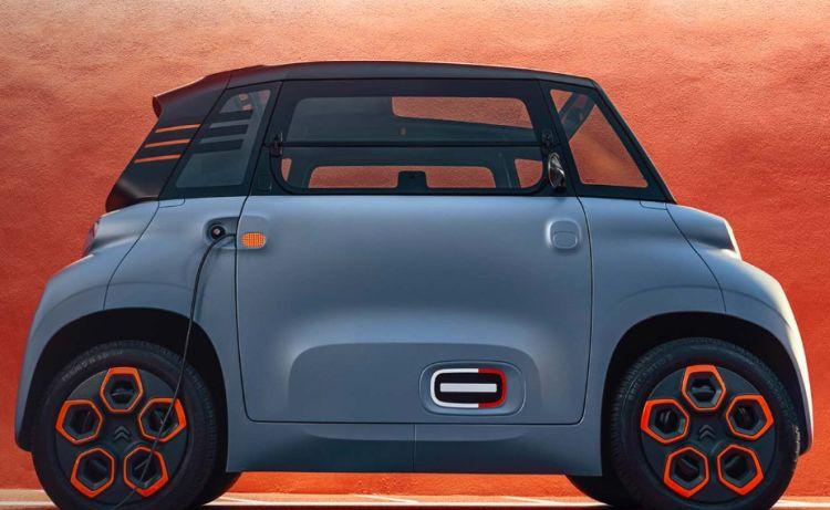 La nuova electric car Citroen AMI