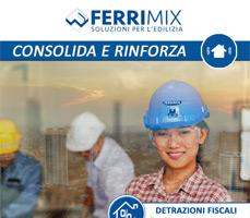 SISMABONUS: Sistemi rinforzo strutturale FRCM e CRM Ferrimix 8