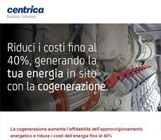 Riduci i costi dell'energia fino al 40% con la cogenerazione