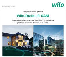 Riqualifica il tuo impianto sanitario con Wilo-DrainLift SANI 9