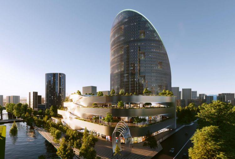 O-Tower: Forma ad anello e sostenibilità ambientale