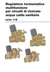 Scheda tecnica regolatori termostatici