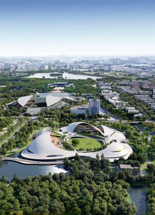 Jiaxing Civic Center, un nuovo concetto di spazio urbano