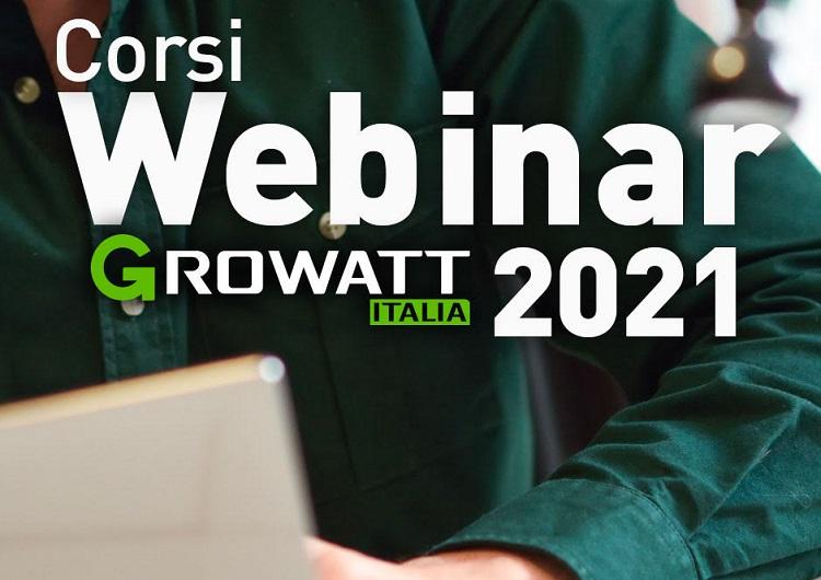 Growatt Italia dà il via ai corsi di formazione certificati per installatori