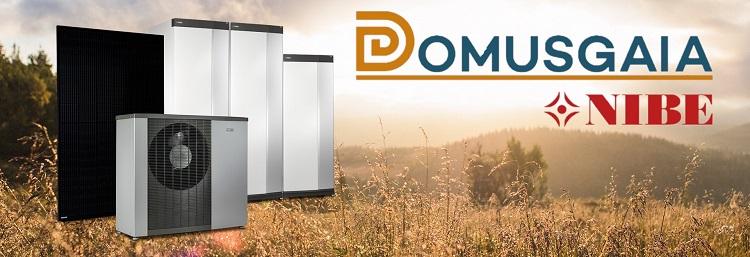 Domusgaia, concessionario unico in Italia di prodotti NIBE per la sostenibilità
