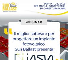 Impara a progettare un impianto fotovoltaico in autonomia con il webinar Sun Ballast 2