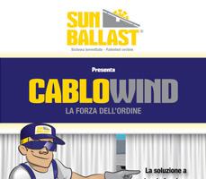 CABLOWIND: la soluzione a doppia funzione per l'alloggio dei cavi e la tenuta al vento 8