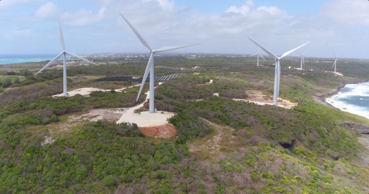 Pale eoliche che resistono ai venti caraibici. Un primato tutto italiano di Leitwind