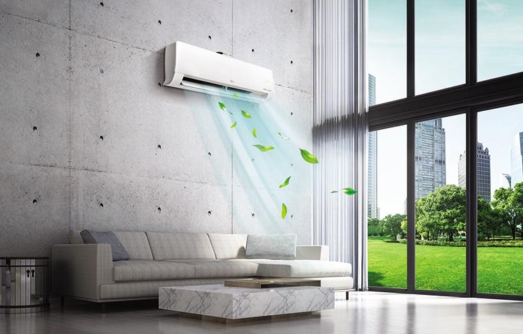 Comfort, efficienza energetica e purificazione dell'aria con LG DUALCOOL Atmosfera