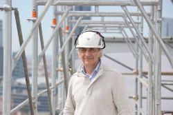 Geometra Lorenzo Casorio, project manager di Impresa Rusconi. Progetto Torre Milano