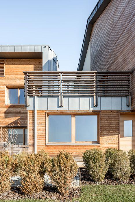 Ognuno dei 9 appartamenti del Parco dei Gelsi è dotato di un balcone