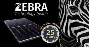 FuturaSun estende la garanzia del modulo Zebra a 25 anni