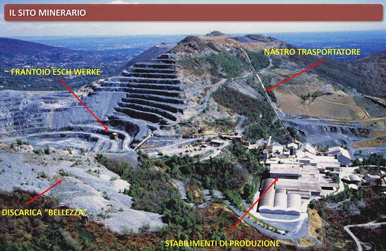 Produzione amianto in Italia: L'amiantifera di Balangero