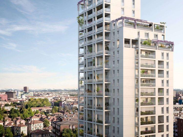La torre alta e sostenibile di Milano