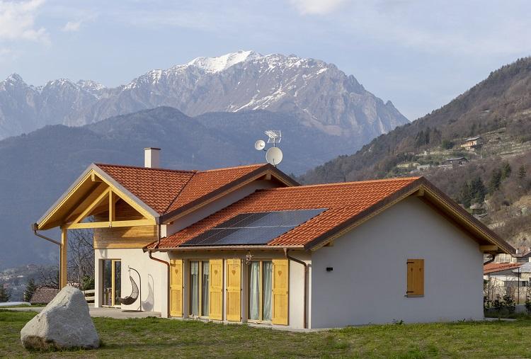 Una casa in legno da sogno e sostenibile con Vario Haus