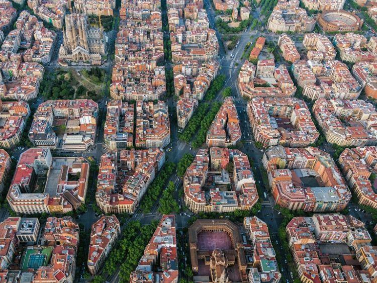 Forestazione urbana: le infrastrutture verdi di Barcellona