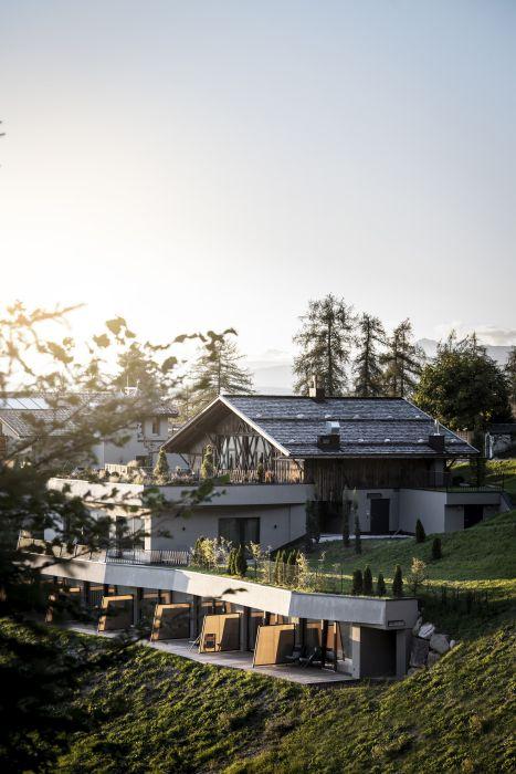 Hotel Gfell a Fiè dello Sciliar, ipogeo e sostenibile