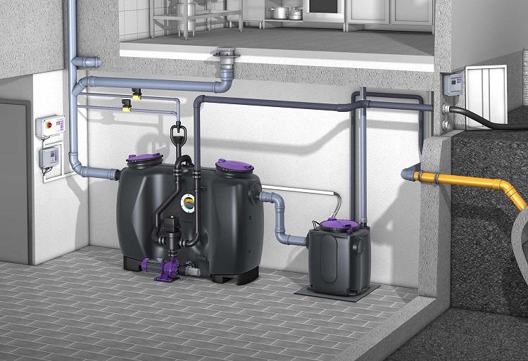 La soluzione compatta per il drenaggio delle acque? E' Aqualift S 100/200