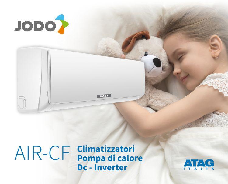 ATAG: climatizzatore Jodo AIR-CF, silenzioso ed efficiente