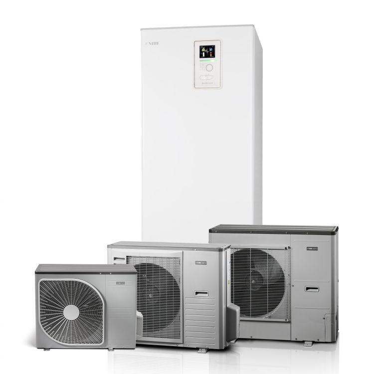 DomusGaia, sistema di riscaldametno, raffrescamento e produzione di acqua caldaNIBE BA-SVM