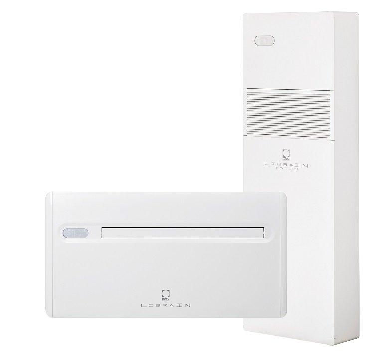 Paradigma, climatizzatore senza unità esterna Libra IN e Libra IN Totem