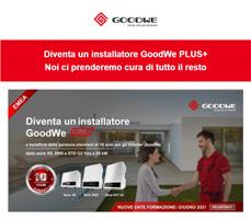 Diventa un installatore GoodWe PLUS+! 2