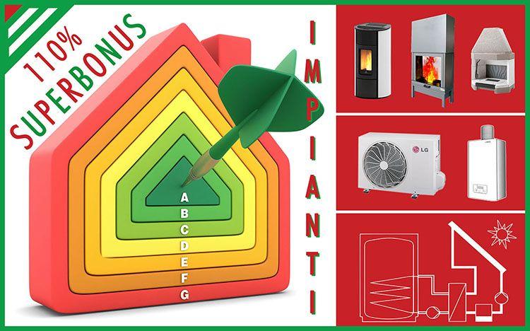 Superbonus: la sostituzione degli impianti termici