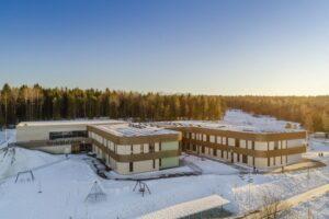 In Norvegia la scuola sostenibile in legno Kebony