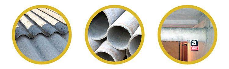 L'amianto nell'edilizia: a matrice compatta o friabile