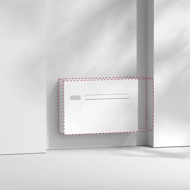 Dimensioni contenute per il condizionatore INNOVA 2.0 MINI che si può installare facilmente in tutti gli ambienti