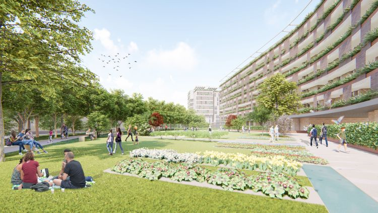 Lambrate Streaming: Le residenze previste dal masterplan e il parco